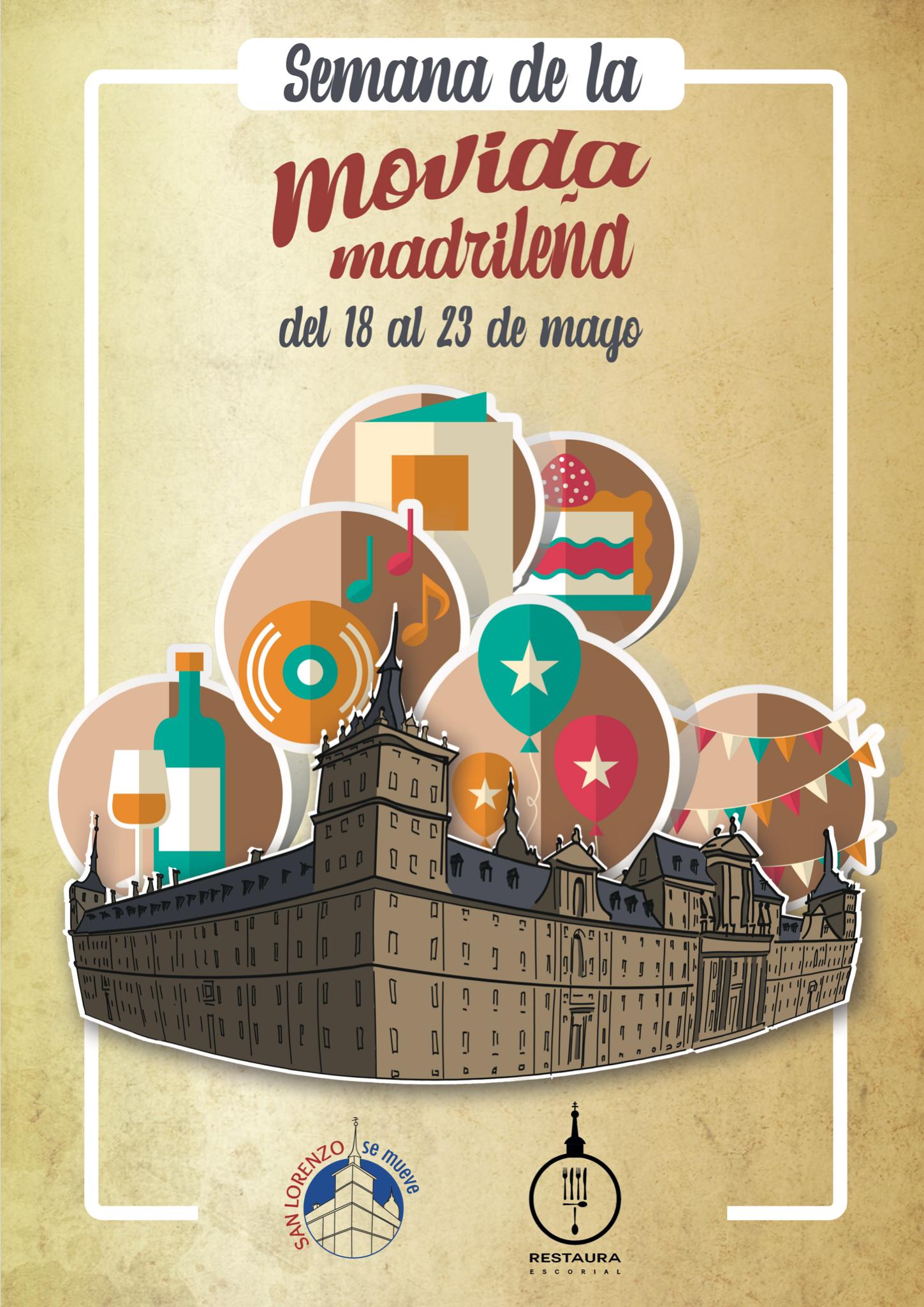 I Semana de la Movida Madrileña en San Lorenzo de El Escorial