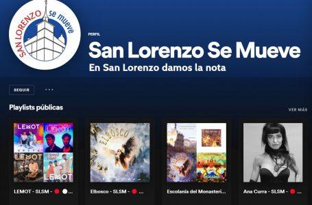 'En San Lorenzo damos la nota': intérpretes gurriatos se unen en Spotify